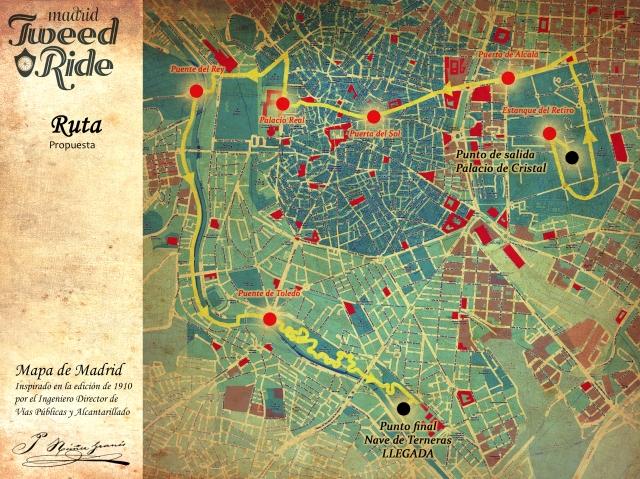 Ruta tweed Ride Madrid 2013