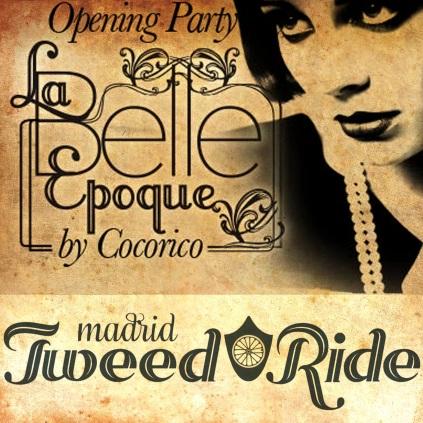 Logo Belle Epoque - Tweed Ride filtro