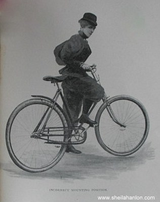 Maria-Ward-Bicycling-for-Ladies-Incorrect-Mounting-Position7