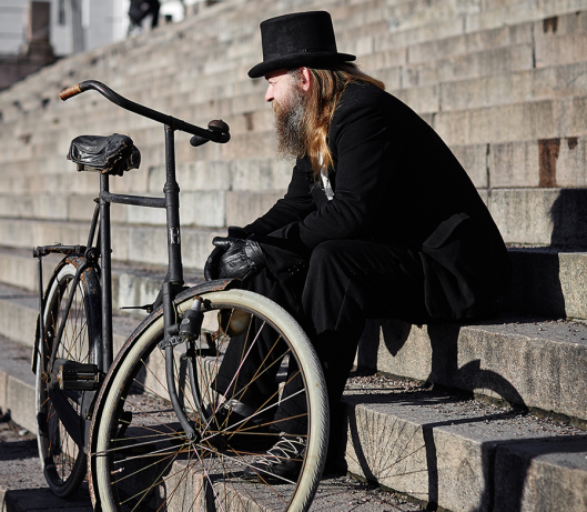 Winter Tweed Run Helsinki 2015 - Krista Keltanen